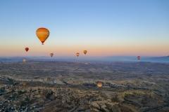 Вид из корзины воздушного шара