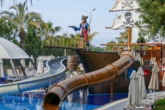 Маленькие горки на пиратском корабле