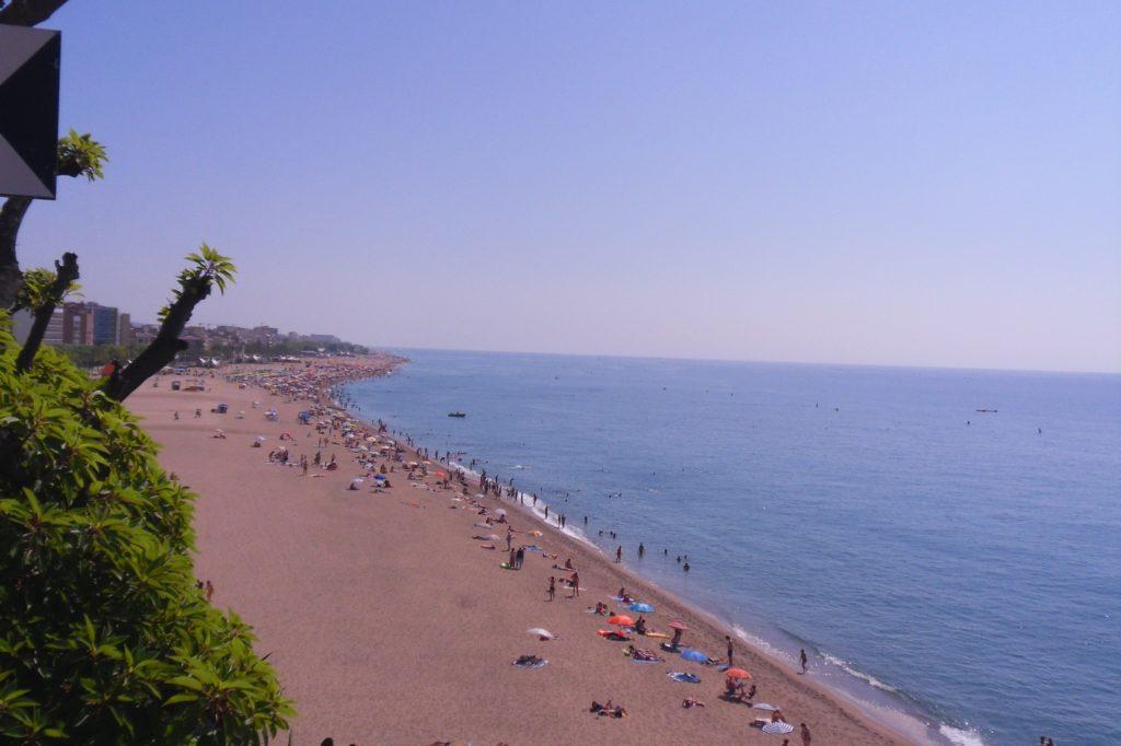 Пляж в Calella