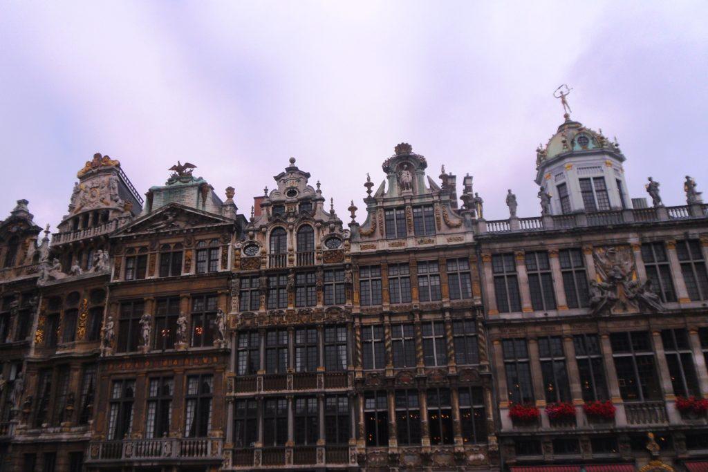 Хмурый, но запоминающийся Брюссель