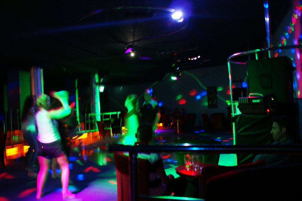 Выбрались на дискотеку
