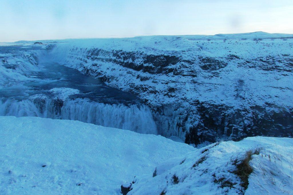 Водопад Guldfoss