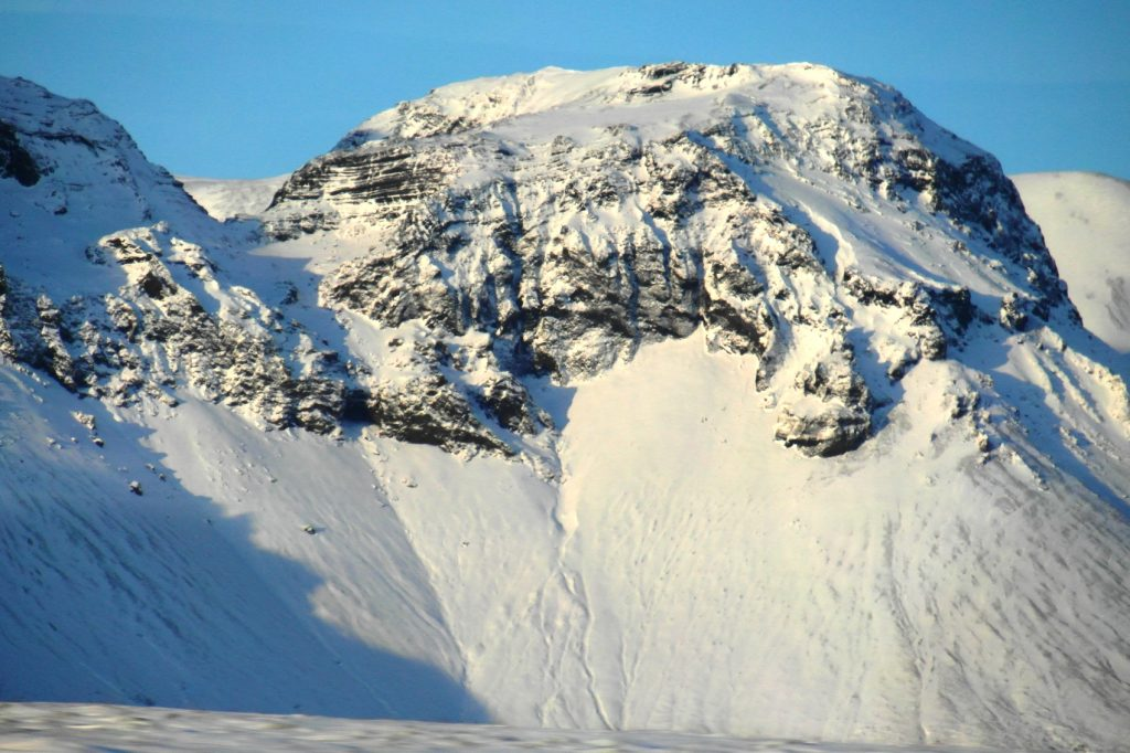 Вот такие здесь горы!