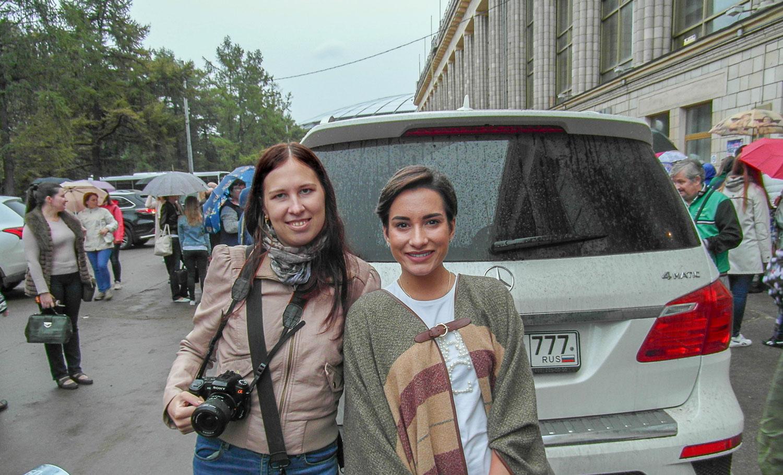 С олимпийской чемпионкой и серебряным призером Игр в Сочи Ксенией Столбовой