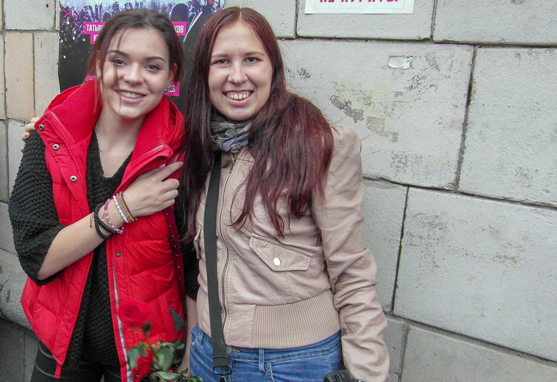 С олимпийской чемпионкой Сочи Аделиной Сотниковой