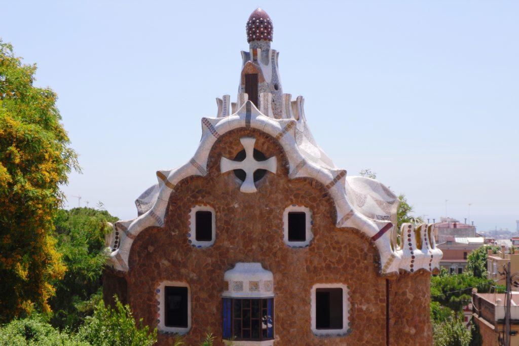 Пряничный домик в парке Güell