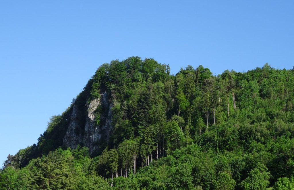 Вот такие здесь шикарные горы