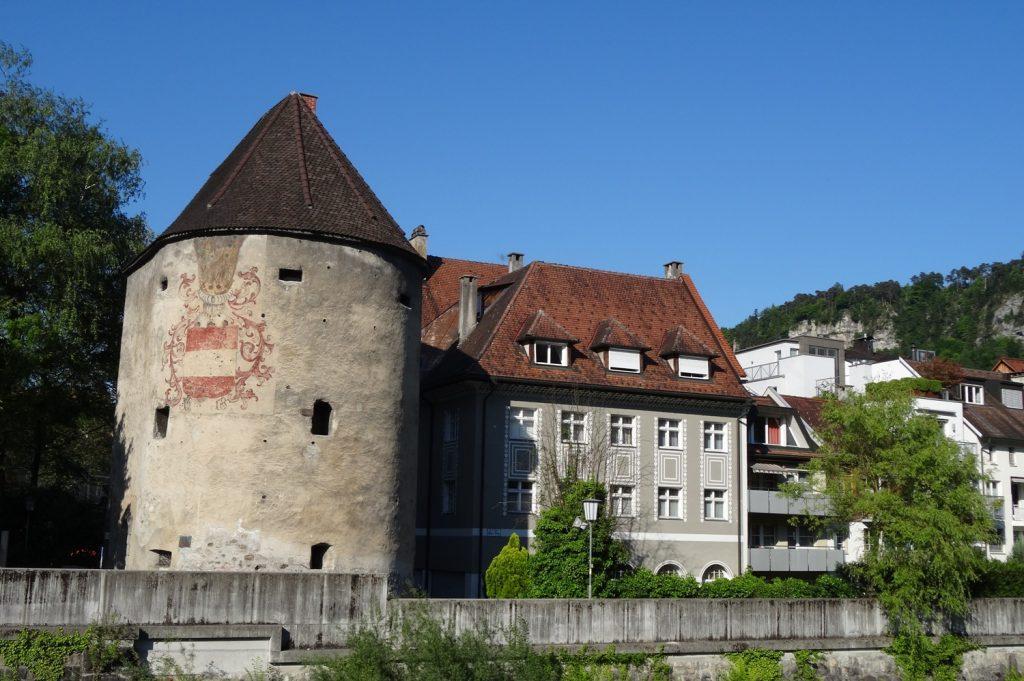 Старые здания сохранились