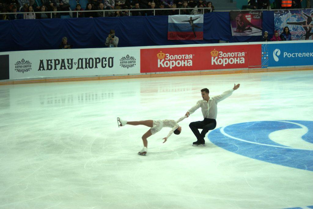 Наталья Забияко - Александр Энберт. Очень красивая пара!