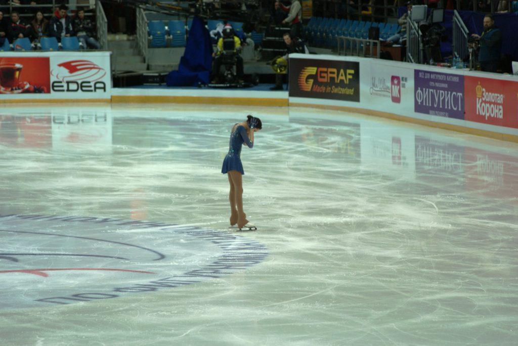 Евгения Медведева, новая чемпионка России