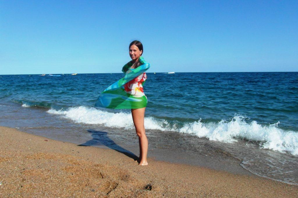 Пляж в Испании