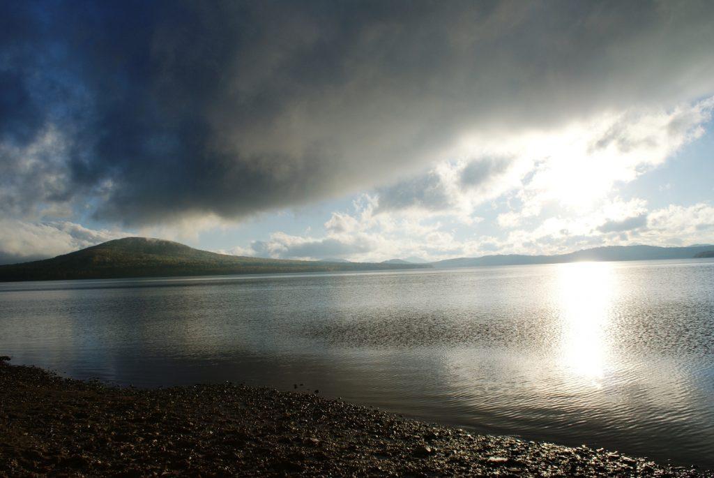 Озеро просто магическое