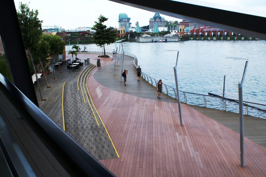 Дорога на остров: по пути можно пофотографировать и перекусить