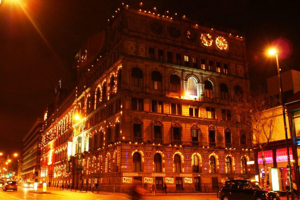 Ночной Манчестер