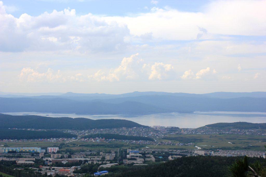 Гуляем с гостями - показываем город с горы