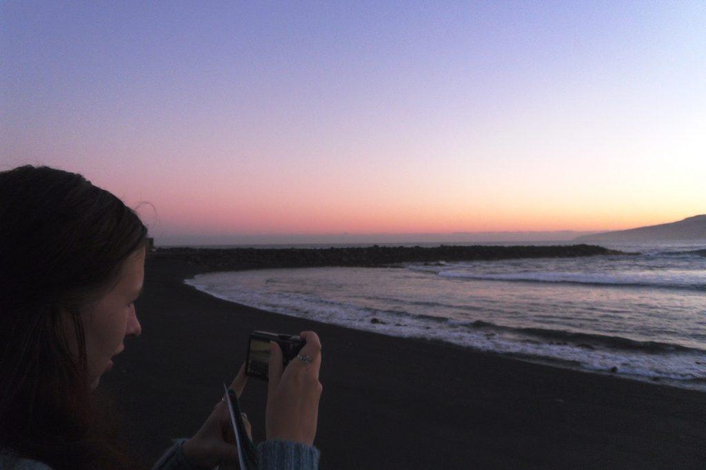 Фоткаю закат