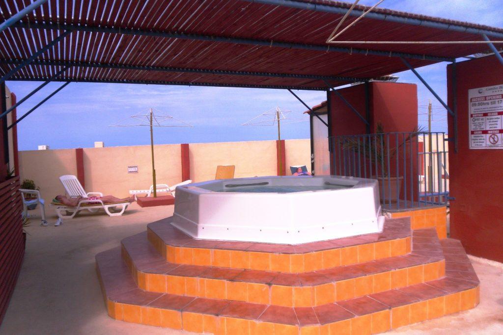 На крыше нашего отеля