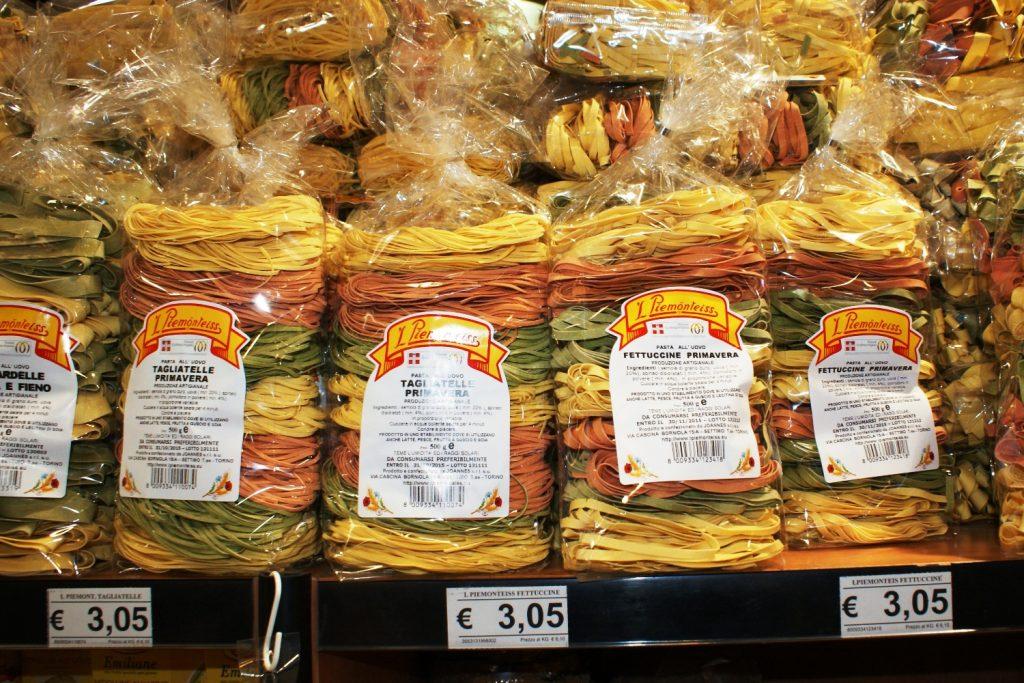 Зато много недорогих и вкусных макарон