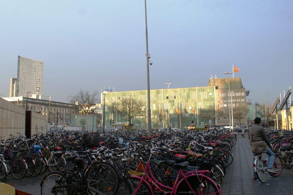 Голландия - страна велосипедов