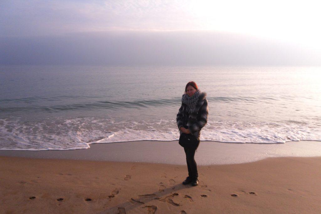 Гуляю по пляжу... Так здорово!