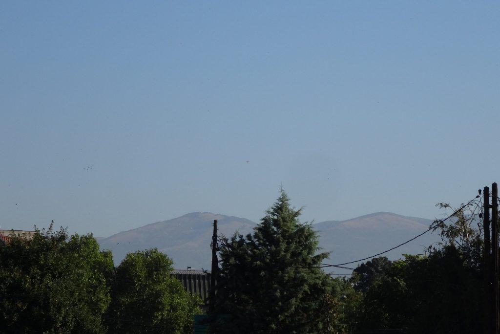 Классно, когда почти отовсюду видно горы