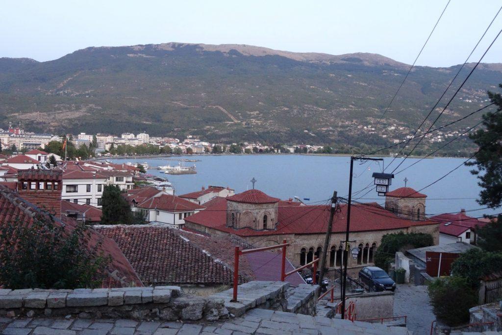 Охрид - старая часть. Шикарные виды