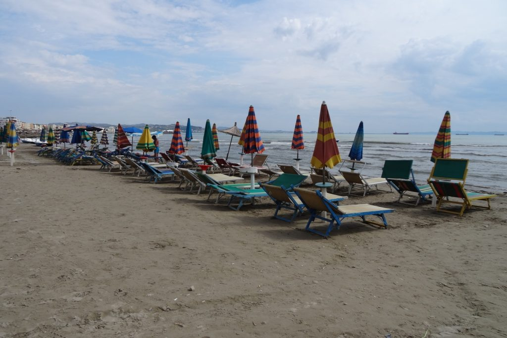 Дуррес. Пляж