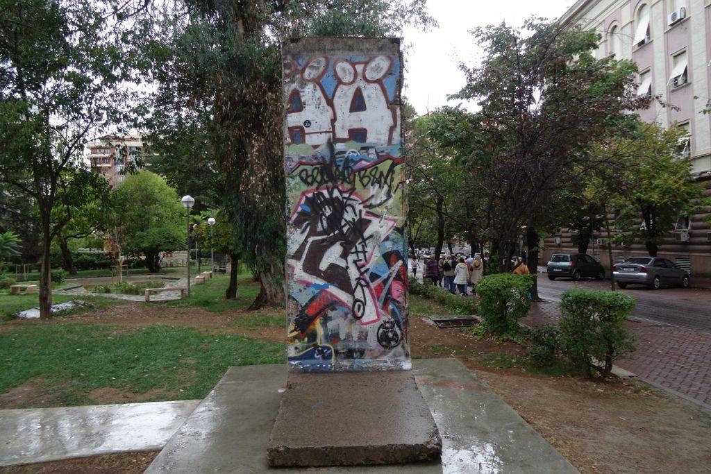 Часть Берлинской стены