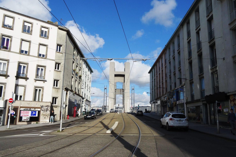 Подходим к мосту Recouvrance