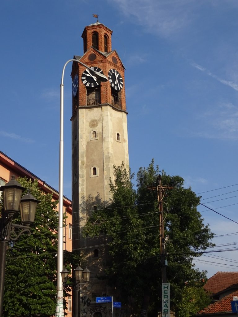 Sahat Kulla - башня с часами