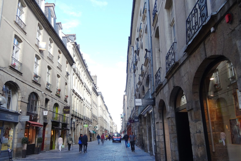 Типичная французская улочка