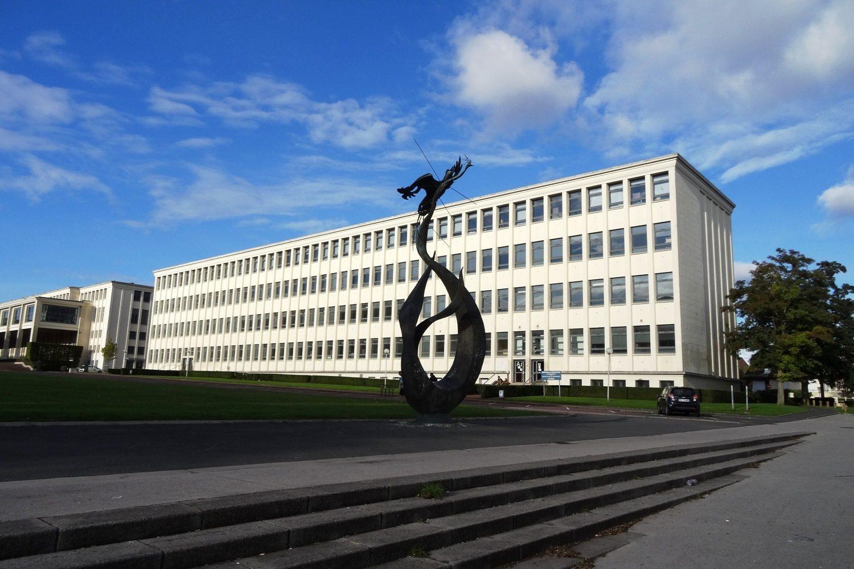 Зато студентов много. Здесь находится университет Caen-Normandie
