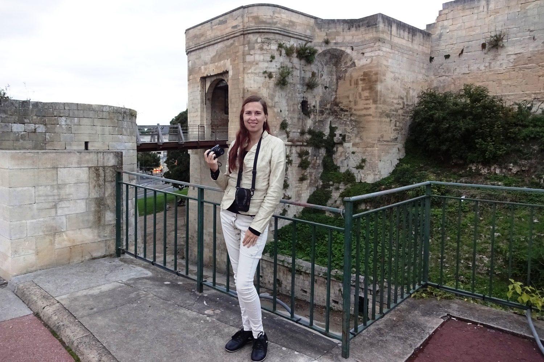 В центре города - Канский замок