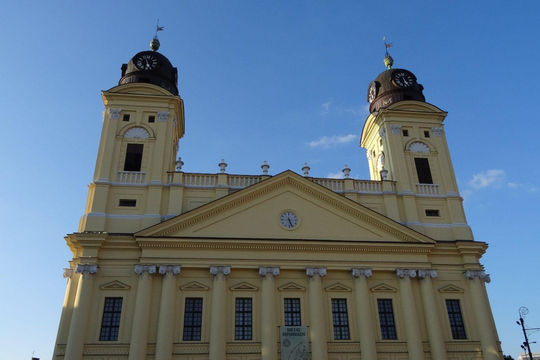 Реформатский собор Дебрецена. Крупнейшая протестантская церковь в стране. Построена в начале XIX века