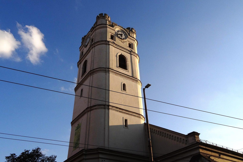 Маленькая Кальвинистская церковь, построенная в начале XVII века