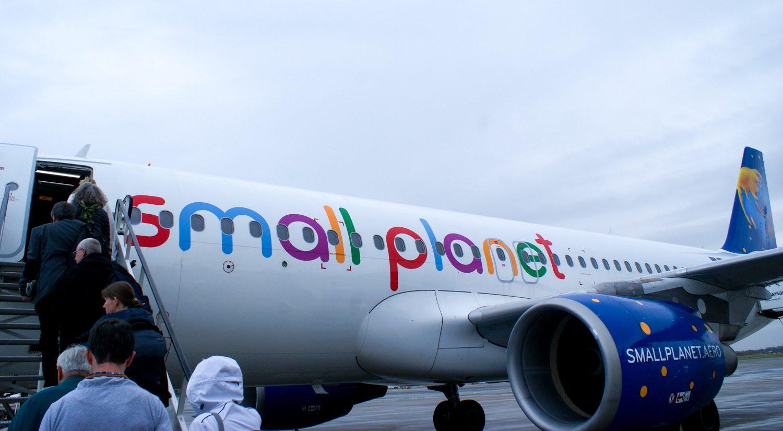 Познакомилась с новой авиакомпанией