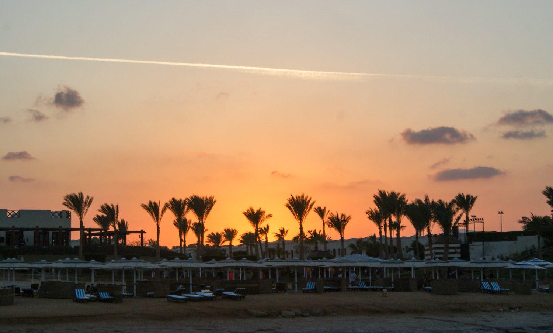 Люблю закаты в Египте!