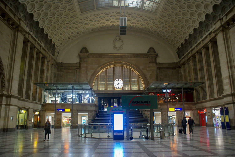 Вокзал Лейпцига