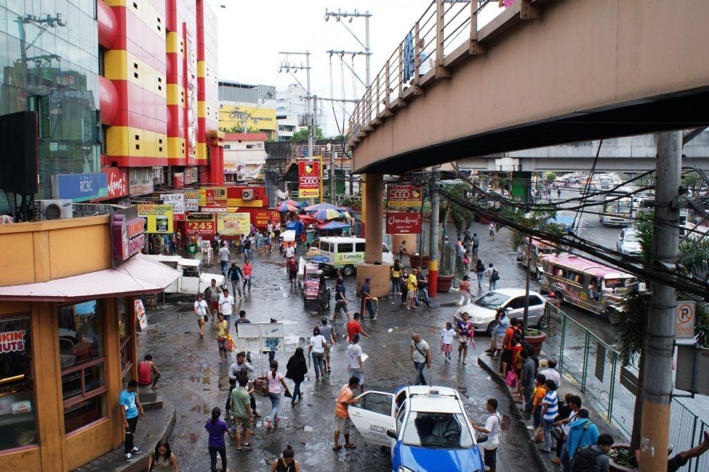 Типичная улочка в Маниле