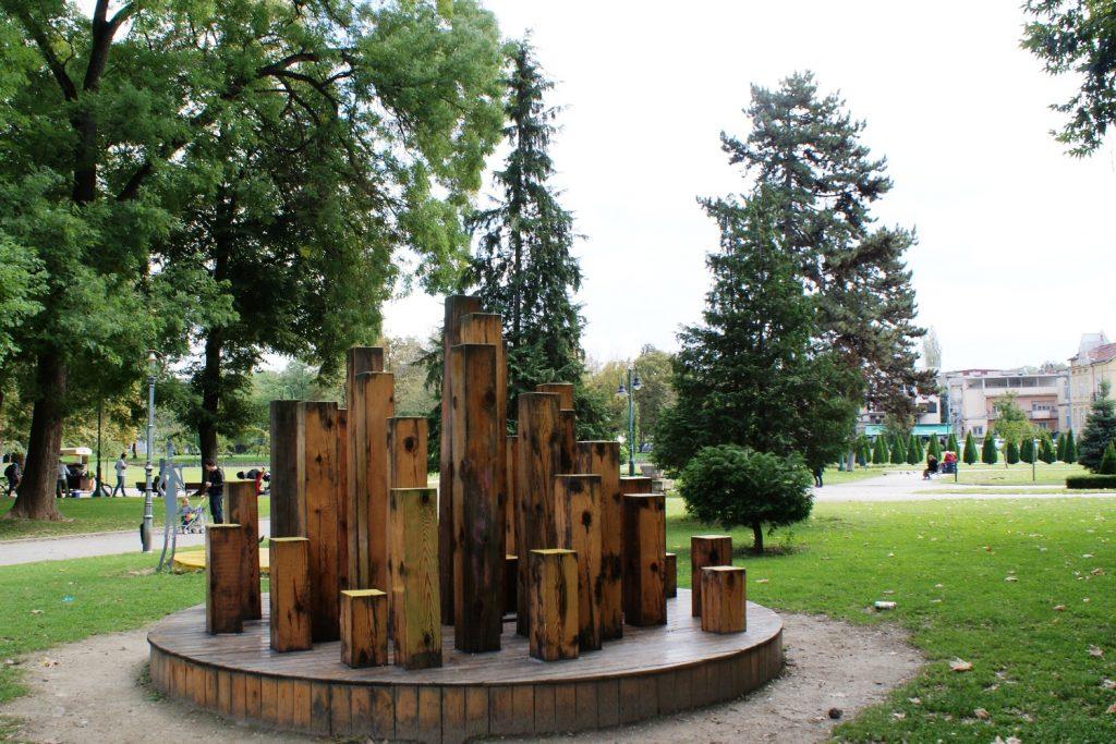 Прелесть в парке
