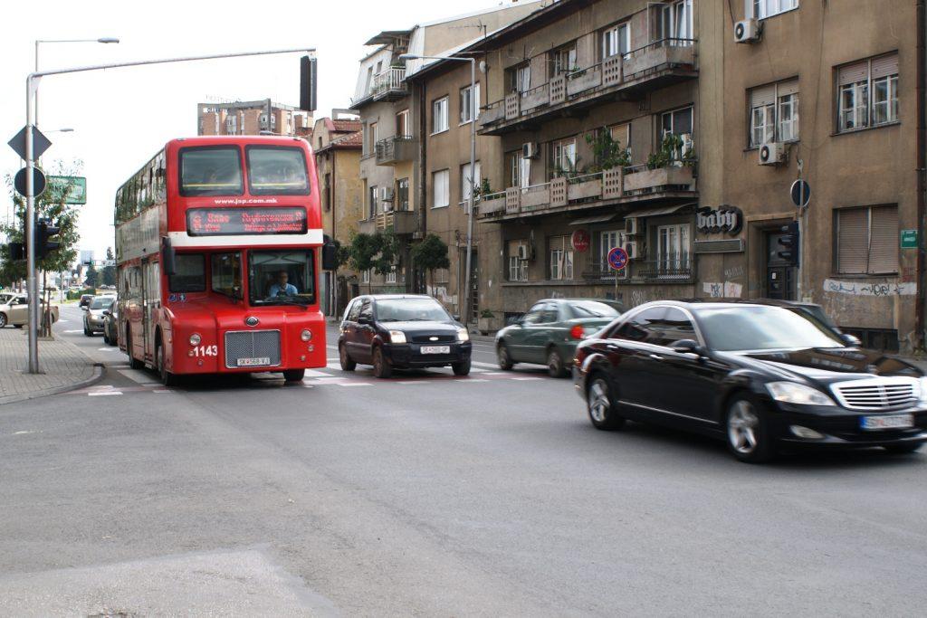 Не только в Лондоне, но и в Скопье! Двухэтажные красные автобусы