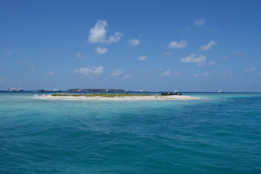 Вот такие островки по пути
