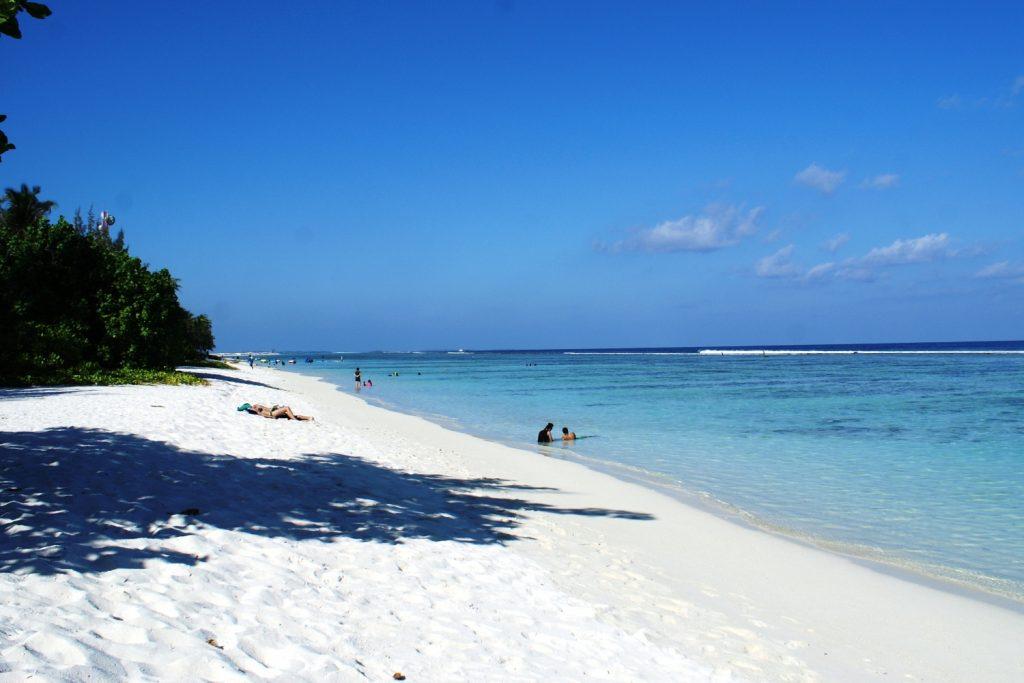 Это идеальный пляж!