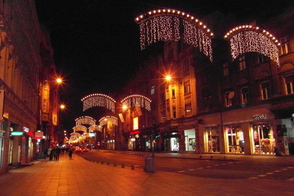 Сараево вечером