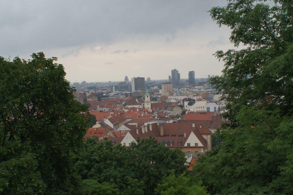 Братислава - вид сверху