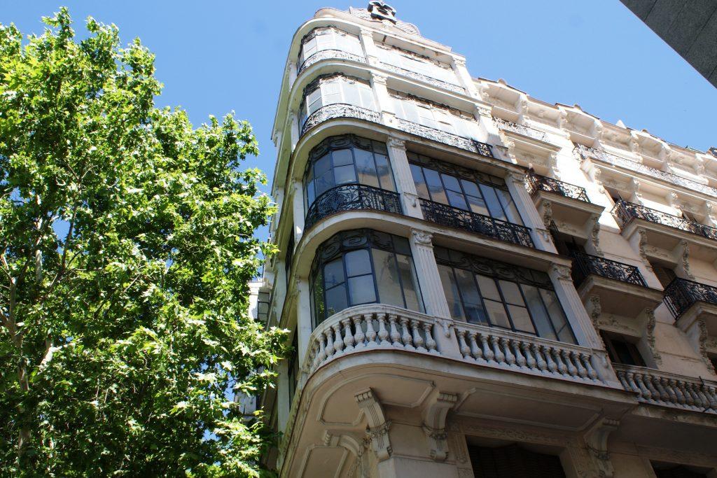 Типичные дома в Мадриде
