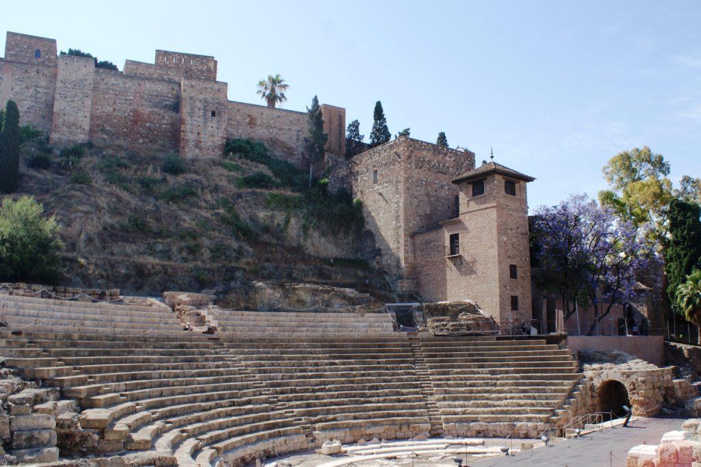 Амфитеатр в Малаге