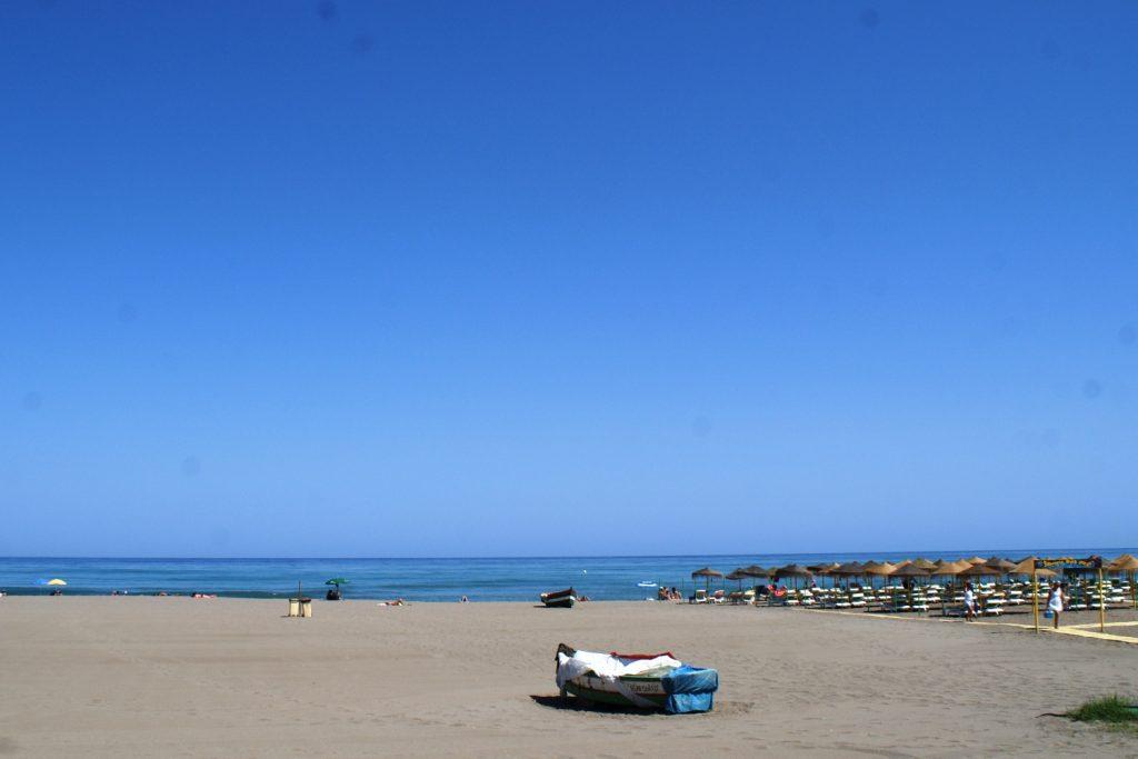 Просторные пляжи
