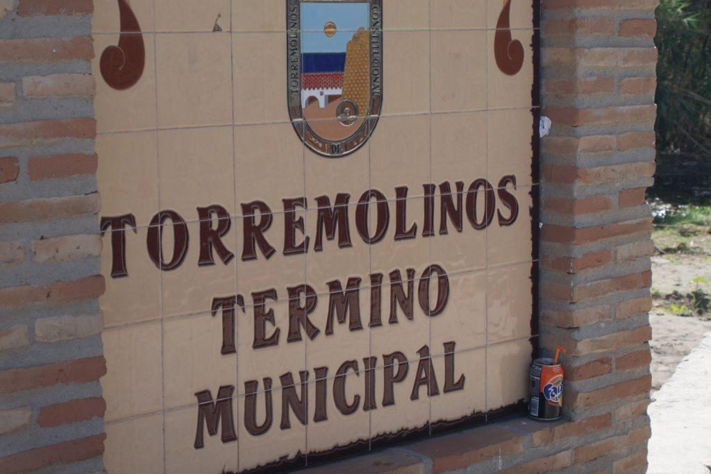 На входе в Торремолинос