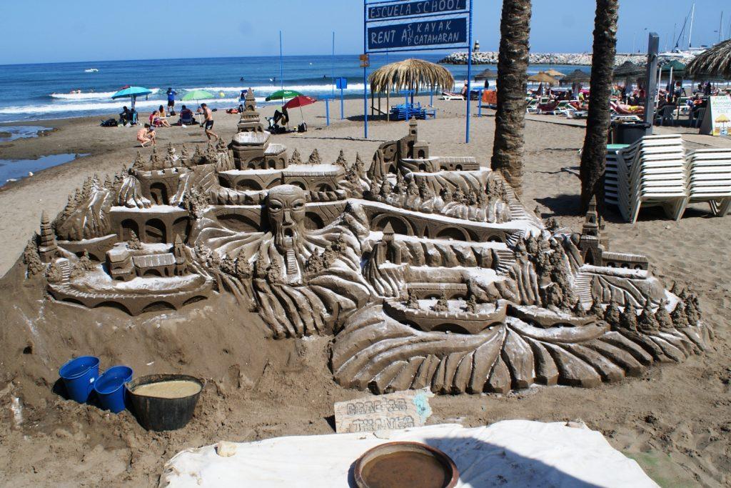 Шикарные песочные фигуры